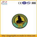 Emblema feito sob encomenda do bordado da forma com seu logotipo