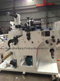 Machine rotatoire de découpage et de fente avec la tourelle