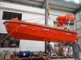 Solas een Toestel van de Lancering van de Kraanbalk van het Type met het Systeem van de Compensatie van de Golf voor de Boot van de Redding