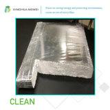 Panneau inférieur d'isolation de vide de conduction thermique de fibre de verre pour le matériau de construction