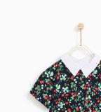 Платье изготовленный на заказ девушки с цветом контраста