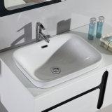 衛生製品ホテルのための白いMDFの浴室の家具のキャビネット