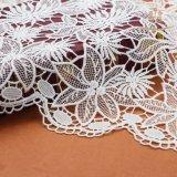Ткань шнурка цены Fatory шнурка молока способа L20010 вышитая шелком для делать платья