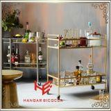 Karren-Alkohol-Laufkatze-Edelstahl-Möbel der Laufkatze-(RS150504)