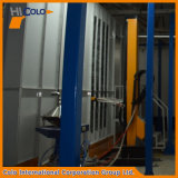 Cabine de pulverização automática multi-ciclone com dois ciclones