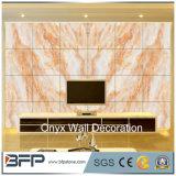 La parete interna di alta qualità progetta le mattonelle di marmo naturali della parete