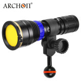 Best Seller de las luces de la fotografía submarina Archon WL07 La luz azul blanco natural de buceo de la luz de la luz de vídeo