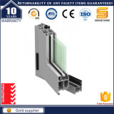 Maison moderne design français de l'intérieur de vitre de porte de pivotement de verre aluminium