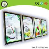 Menú LED Consejo- Caja de luz LED de cristal