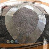 Toupetje van Mens van het Menselijke Haar van de elegant-pruik het Korte (pPG-l-0092)