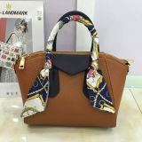 Sacs d'épaule initiaux de sac à main de contraste avec du charme la plus neuve de couleur de dames de la mode de sac Sy8016