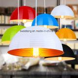 De moderne Eenvoudige BinnenLamp van de Tegenhanger van het Aluminium Hangende voor de Zaal van de Keuken