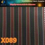 安い高級なライニング(X087-90)のためのヤーンによって染められる縞のプロンプトの商品
