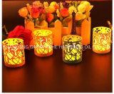 Luxux-LED-Farben-ändernde Kerze, Hauptkerze der dekoration-LED