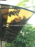 Écran escamotable d'abri de parasol de tente de paquet du meilleur de produits patio manuel bien choisi de patio (YY-M)