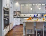 Clássico em madeira maciça armário de cozinha Modular