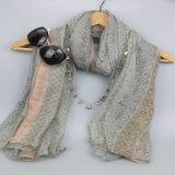 Sciarpa di Boho delle donne, scialle di stampa, accessorio di modo, sciarpa del poliestere di modo
