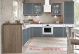 Высокий лоснистый (подгонянный) кухонный шкаф кухни Dit