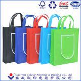 Cadeaux promotionnels Réutilisable Eco Friendly Tissu non tissé Foldable Carry Shopping Tote Bag