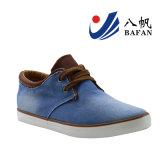 Gewaschene Denim-obere Mann-beiläufige Schuhe