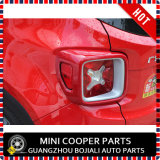 Крышка заднего светильника типа ABS автоматического вспомогательного оборудования материальная красная для предательской модели (2PCS/SET)