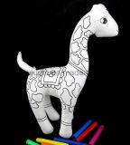 Bricolage divers jouets réutilisables lavables Enfants Doodle Graffiti jouet en peluche farci