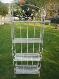 4 Reihe-im Freienpflanzer-Regal-Ecken-Regal
