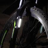 고성능 USB 재충전용 LED 자전거 빛