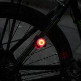 Indicatore luminoso ricaricabile della bici del Chameleon del USB del professionista--IP64! !