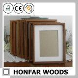 Frame de madeira rústico da foto do retrato de Brown para a decoração