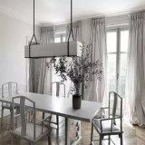 Lámpara colgante elegante de la cortina de la tela del restaurante del nuevo estilo