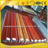 Perfil de alumínio da mobília da decoração da fonte da fábrica com cor de cristal