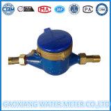 Medidor de água do jato do corpo de bronze de Dn15-25mm multi