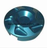 Perfil de alumínio de usinagem da fábrica da China com diferentes acabamentos superficiais