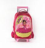 Mädchen-Kind-Kursteilnehmer-Schule-Laufkatze-Beutel im guten Preis