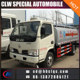 유럽 표준 5000L 연료 유조 트럭 디젤 엔진 유조 트럭