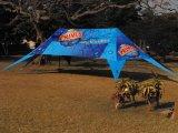 Revêtement en aluminium extérieur Double pic publicitaire Star Tent
