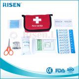 Mini bolso de kit de los primeros auxilios del recorrido de nylon de encargo superior de la venta con el Ce, aprobado por la FDA