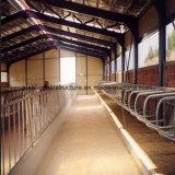 牛はSGSの証明書が付いている鉄骨構造の金属の納屋を取除いた
