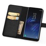 De Melkweg van Casefor Samsung van de Telefoon van het Leer van de portefeuille S8