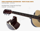 6 Zoll-kleine Karosserie Cutway Farben-Akustikgitarre Sg026c