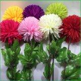 Flores artificiales de seda Hortensia falsa para el hogar decoración de boda