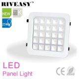 25W ronda de esquina de alta potencia COB LED Panel de luz con Ce y RoHS iluminación