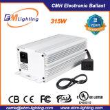 Aprobado por UL 315W CMH lastre para crecer la luz de gases de efecto