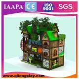 Campo de jogos interno personalizado do tema de madeira da casa (QL-16-13)