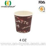 Heißes Papierwegwerfcup der Förderung-4oz