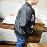 Куртка мальчиков девушок черная