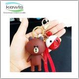 Heißes verkaufendes nette Förderung kundenspezifisches weiches Kurbelgehäuse-Belüftung Keychain