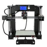 Kit 2017 della stampante di Anet 3D per il filamento dell'ABS dei monili con le parti di stampante ed accessori per il Ce Vertification dei capretti