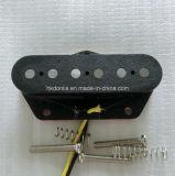 Vintage AlNiCo 5 Flatwork amplio estilo orientable Tele Bridge de recogida de la guitarra